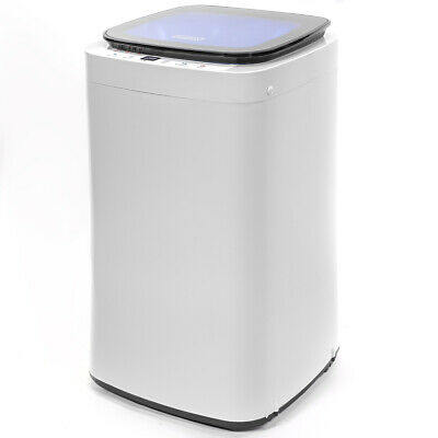 Full-Automatic 7.7LBS Portable Compact Washing Machine Spin Dryer Laundry