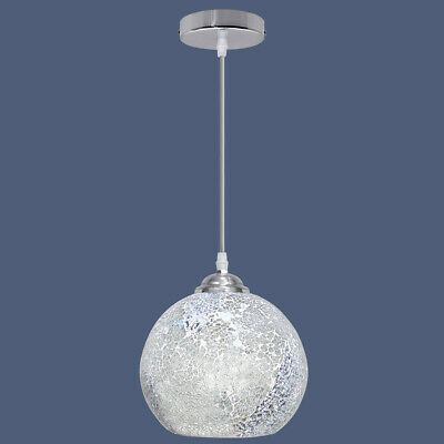 Vintage Glass Globe Ceiling Hanging Pendant Light Shade Mosaic Lighting M0103