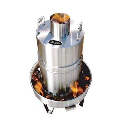 Orion 853998001012 Stainless Steel Convection Charcoal Cooker