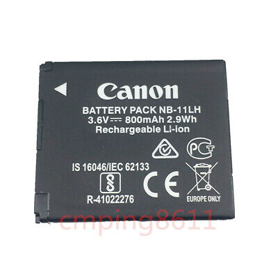 Canon Battery Pack NB-11LH NB-11L 3.6v, 800mAh 2.9Wh (11l Battery Pack)