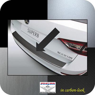 OPPL Ladekantenschutz ABS Carbon Design für Skoda Superb III Kombi 2015
