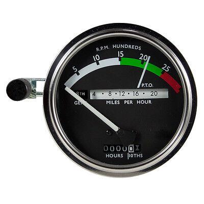 John Deere New Syncro Range Tachometer White Needle 2510 2520 3020
