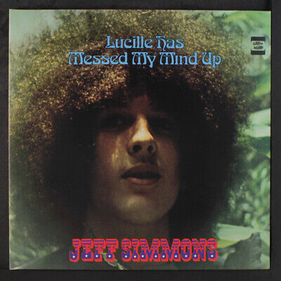 JEFF SIMMONS: Lucille Has Messed My Mind Up LP (Germany, reissue, inner,