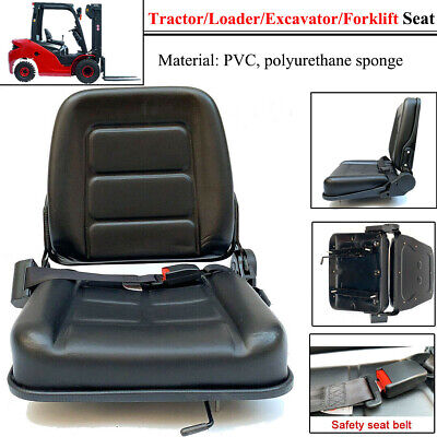 Forklift Seat With Auto Seat Lock For Tractorloaderexcavator Waterproof Pvc Us