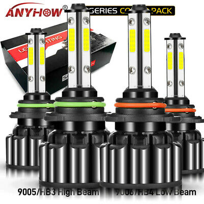 LED Headlight 9005 9006 For Toyota Corolla 2001 2013 High  Low Beam Bulbs Combo