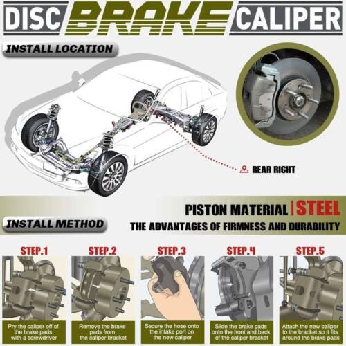 Brake Caliper W/Bracket Rear Right For Honda Civic 2006