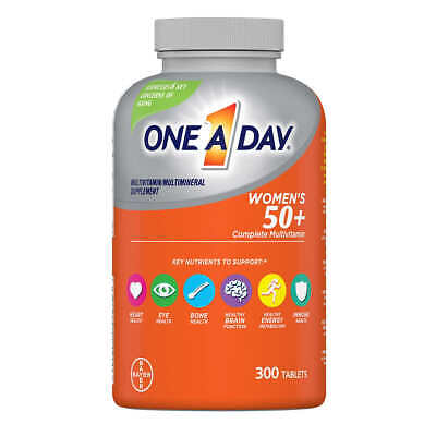 One A Day Women's 50+ Healthy Advantage Multivitamin, 300 Tablets EX02/2023!