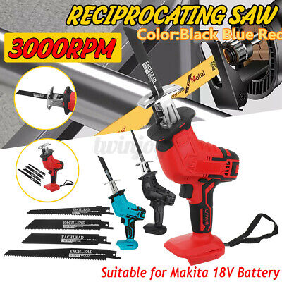 Cordless Electric Reciprocating Saw Outdoor Saber Cutting For 18V Makita Battery