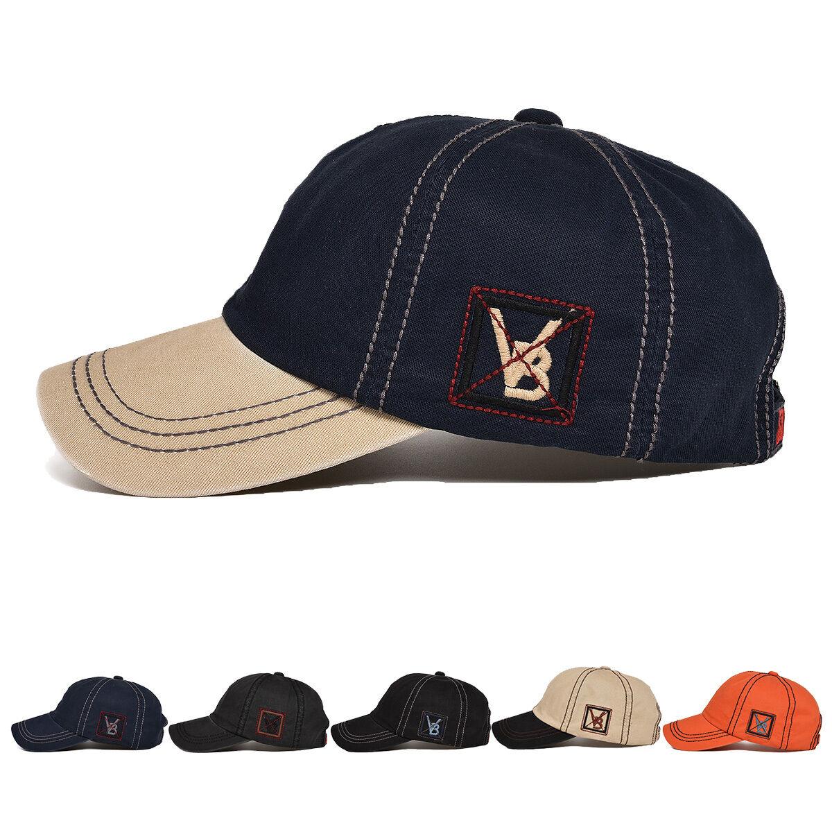 New VOBOOM Mens Women Adjustable Plain Baseball Cap Sport Sn