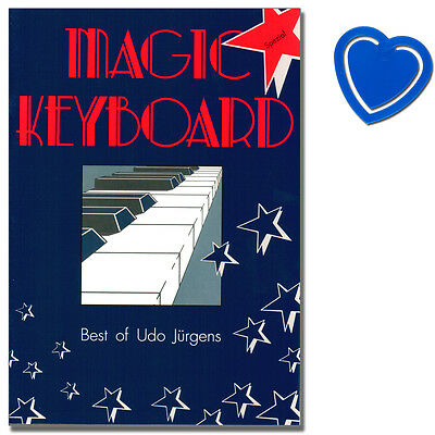 Magic Keyboard - Best Of Udo Jürgens - Songbook für Keyboard - 9790204900534