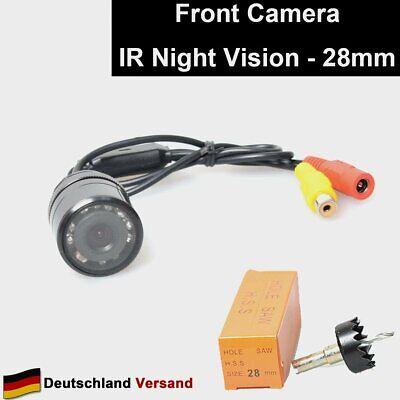 Flush Mount (Auto Frontkamera 28mm Bohren Lochsäge Flush Mount Vordere Aussicht Non-Mirror)