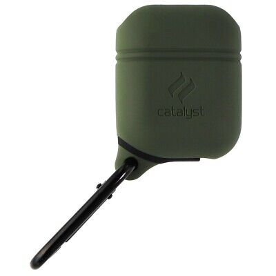 Catalyst Silicon Waterproof Case for Apple AirPods 1 and 2 - Army Green