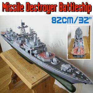 1:200 Scale DIY Paper Model Kit Battleship Ship Military Warship Toy 32
