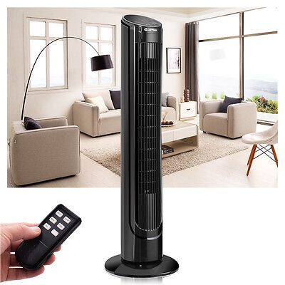 "Costway 40"" LCD Tower Fan Digital Control Oscillating Cooling Bladeless"