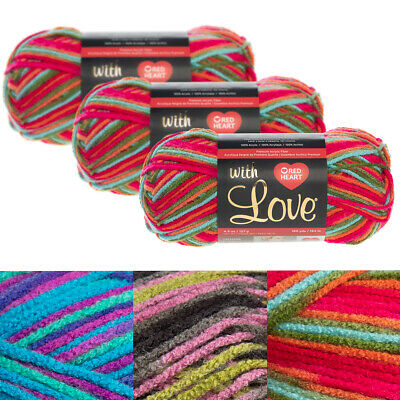 "/""Red Heart Boutique Unforgettable Yarn-Tealberry Set Of 3/"""