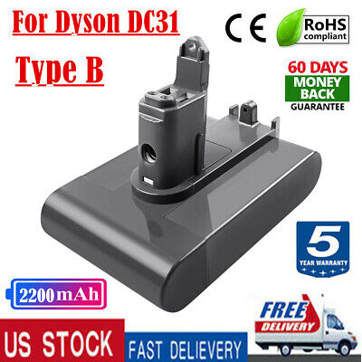22.2V 2200mAh Battery Replace For Dyson DC31 DC35 DC45 Type B Vacuum Cleaner HL
