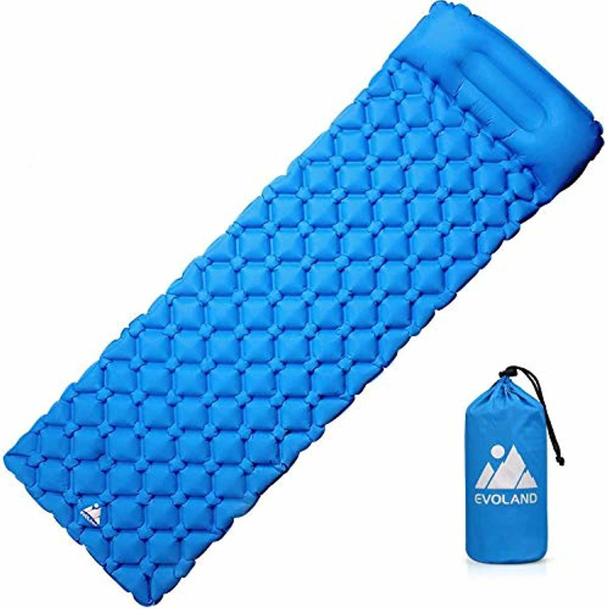 Ultralight Sleeping Pad for Camping, Inflatable Lightweight