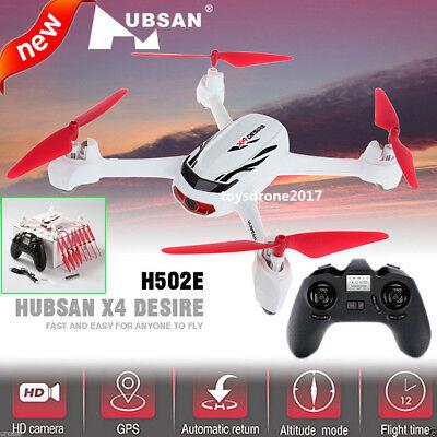 Hubsan H502E X4 RC Quadcopter Drone W/ 720P Camera Auto Return Altitude GPS RTF