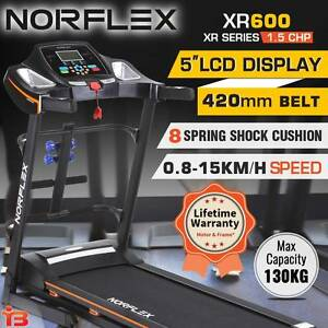 New NORFLX XR600 Folding Electric Treadmill Exercise Machine Fairfield Fairfield Area Preview