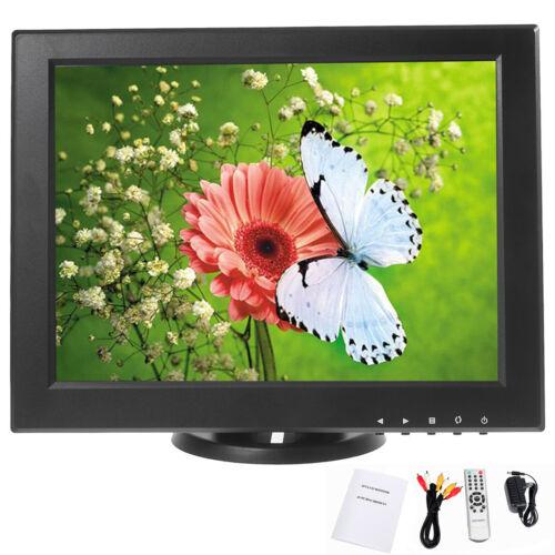 """12"""" Cctv Tft Lcd Monitor Av Pc Vga Av Tv Hdmi Input -car ..."""