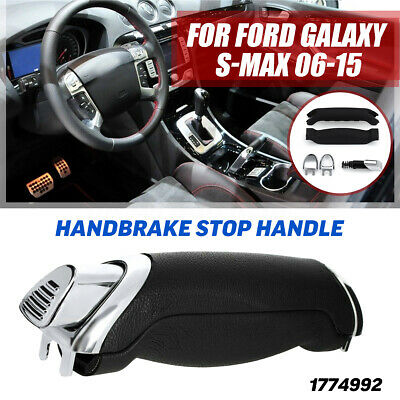 Sendgo Handbrake Handle Repair Kit Soft Feel Parking Hand Brake Stop Handle for Ford Galaxy S-Max