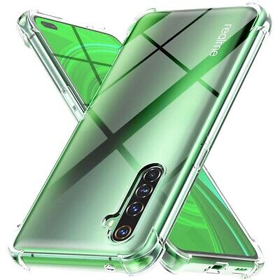 غطاء جل شفاف مقاوم للصدمات لـ Realme X50 Pro 5G