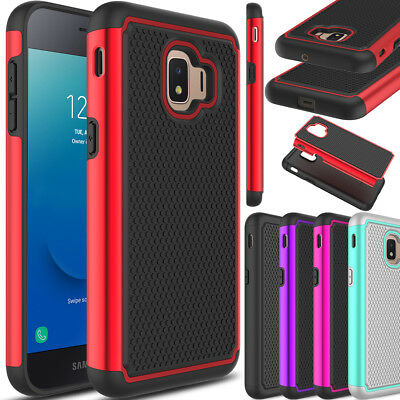 For Samsung Galaxy J2 Core Phone Case Hybrid Rubber Dual Hard Rugged Armor Cover