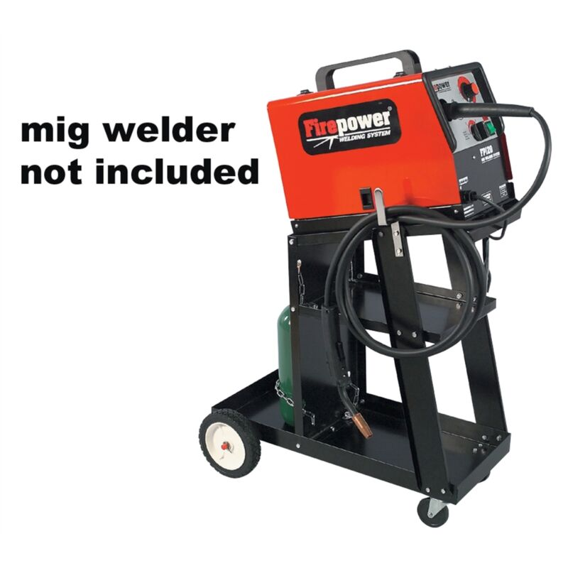 FIREPOWER HEAVY DUTY MIG WELDER WELDING CART 1444-0407