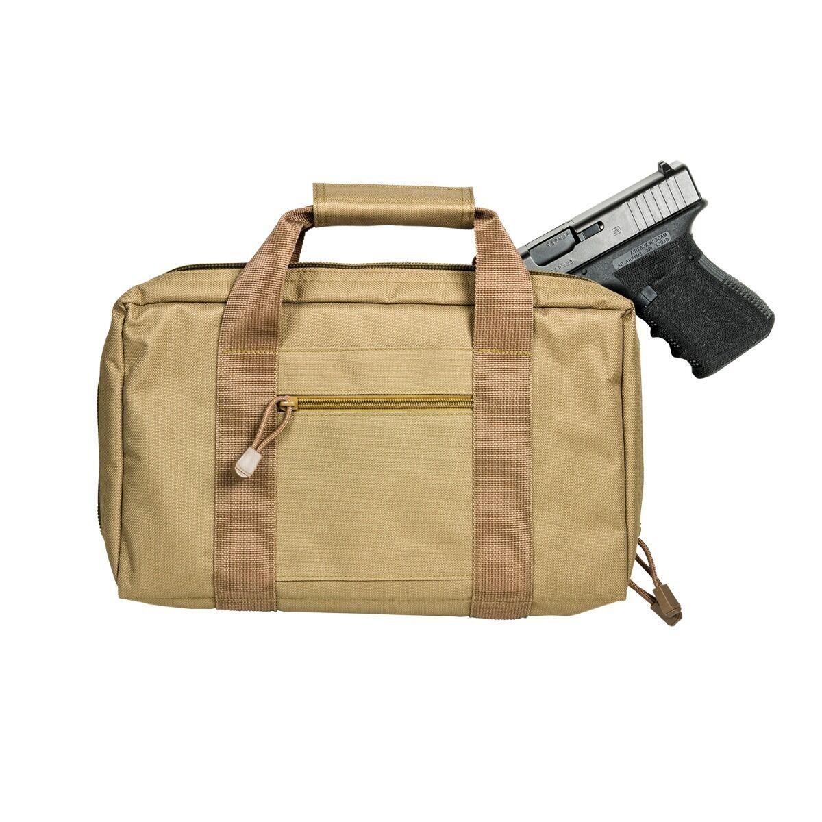 VISM CPT2903 Discreet Pistol Case - Tan