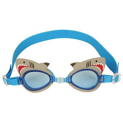 Stephen Joseph Shark Swim Goggles for Kids - Boys Swimming Goggles - Swim Goggles For Kids