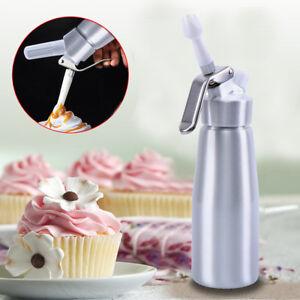 500mL Portable Aluminum Whipped Dessert Cream Dispenser Whipper Foam Cake Maker