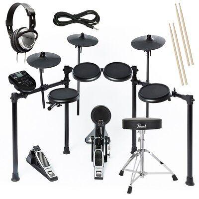 Alesis Nitro Kit Electronic Drum Set DRUM ESSENTIALS BUNDLE