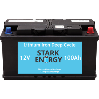 100Ah Lithium Ion Deep Cycle battery *160Ah AGM equivalent*