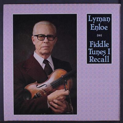 (LYMAN ENLOE: Fiddle Tunes I Recall LP Sealed Bluegrass)