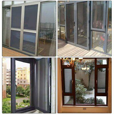 "Shatex Roll Fiberglass Screen Fiberglass Door Window Screen 48""x84"""