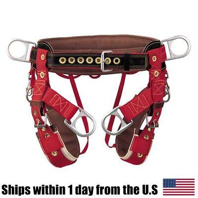 Weaver 08-01032 4-dee Extra Wide Back Saddle W Padded Nylon Leg Straps Small