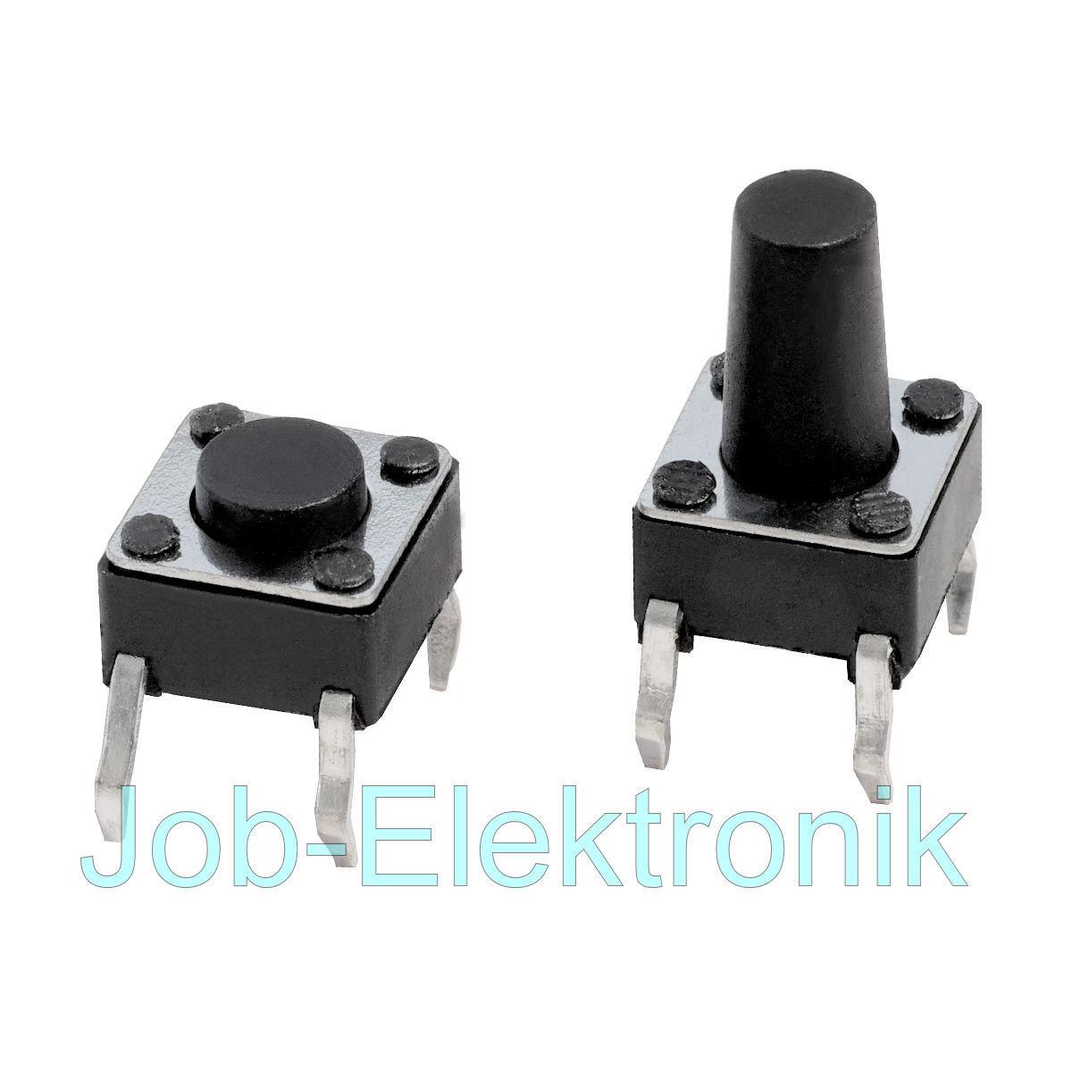 10 Stück kleinst Mikrotaster Mini Micro Schalter Microswitch Taster Printmontage