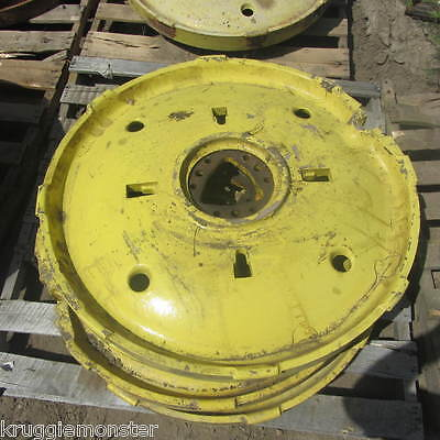John Deere Very Late Styled B Cast Rear Wheel Wheels For 1950 51 52 Models