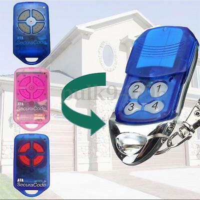 433.92MHz Transmitter Gate/Garage Door Remote Control For ATA PTX4 SecuraCode AU