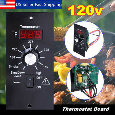 Digital Thermostat Control Board For Traeger Wood Pellet Bbq Grill Replacement