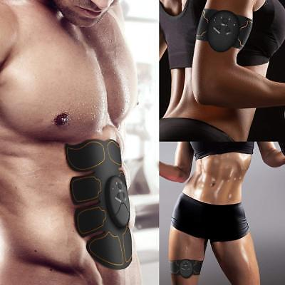 Skin Care Tools Responsible New Smart Abdominal Muscle Trainer Sticker Electric Pulse Treatment Stickers Gym Abs Muscle Stimulator Pad Fitness Arm Sticker Crease-Resistance