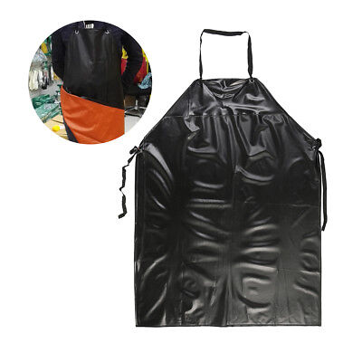 New Heavy Duty Vinyl Waterproof Apron Tough Butcher Fishing Lab Cleaning Kitchen Vinyl Kitchen Apron