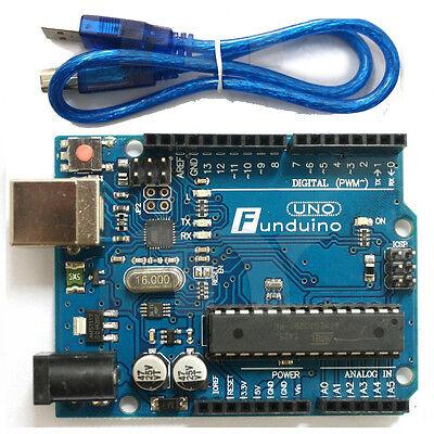 UNO R3 MEGA328P ATMEGA16U2  Development Board With USB Cable For Arduino