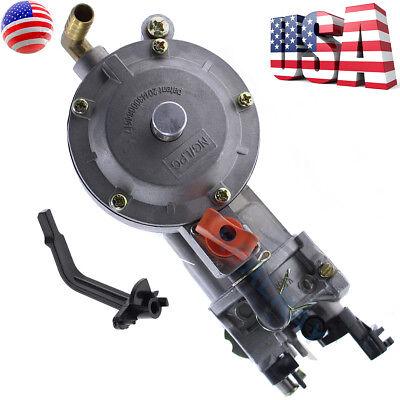 New 170F LPG Water Pump Engine GX160 GX200 Dual Fuel Carburetor 2500W 3500W