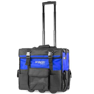 "XLarge 20"" Rolling portable Heavy Duty Portable Tool Bag Storage Organizer Tote"