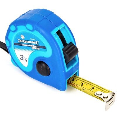 POCKET SIZE 3M TAPE MEASURE Mini Small Long Fabric/Curtain/Net Measuring Tool