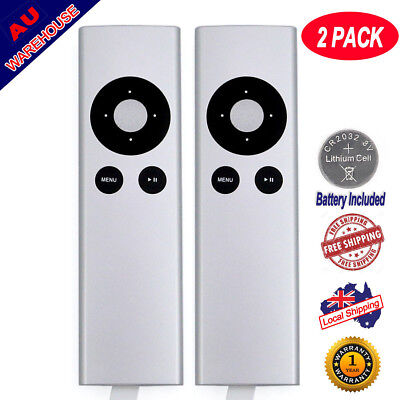 (2 pack) Universal Infrared Remote Control for Apple TV A1427 A1469 A1378 A1294