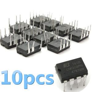 10Pcs-LNK304PN-LNK304-Power-Encapsulation-DIP-7-Chip