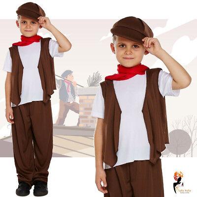 Victorian Boy Chimney Sweep Child Book Week Fancy Dress Costume Kids Outfit ](Admiral Ackbar Costume)