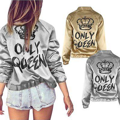 Fashion Women Casual Jacket Long Sleeve Zipper Blazer Suit Outwear Slim Coat